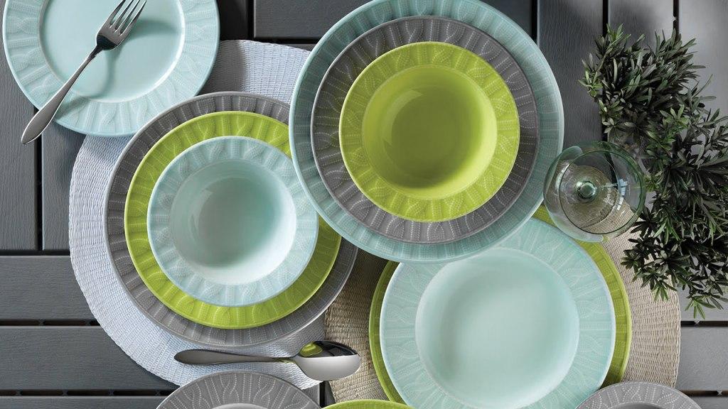 Set za ručavanje - IVY GREEN primena