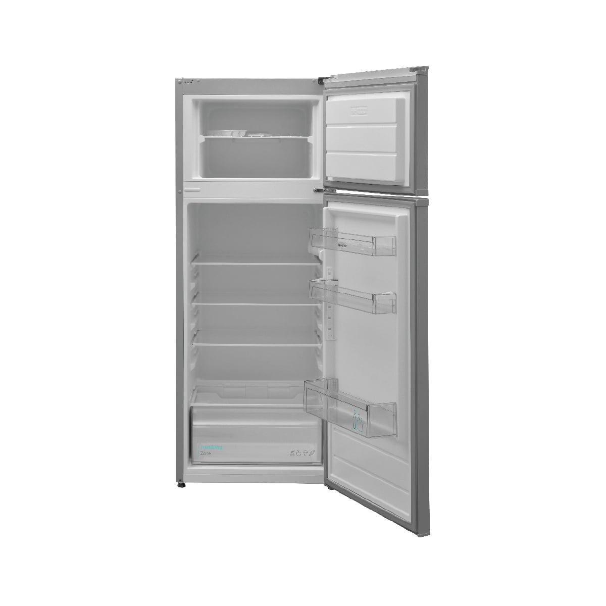 Sharp kombinovani frižider 213 l (171+42) SJ-TB01ITXLF otvoren