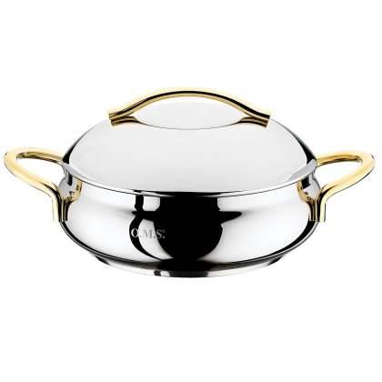 Kaserola od INOX-a sa luksuznim ručkama - PASHA Dina 2080G