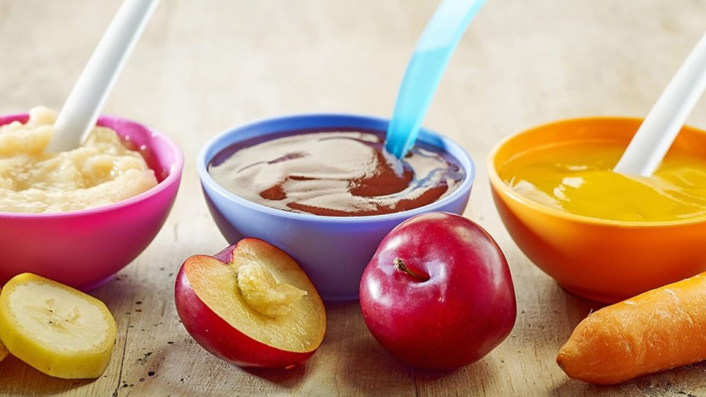 Kašica od karfiola, jabuke i tikvice