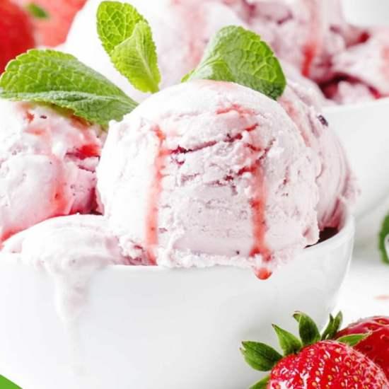 sladoled od jagoda