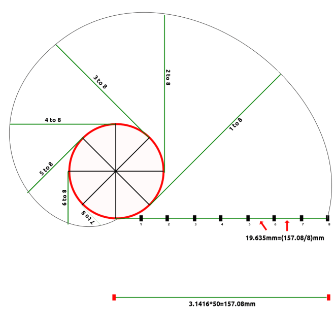 Draw_an_Involute_Curve_From_a_Given_Circle