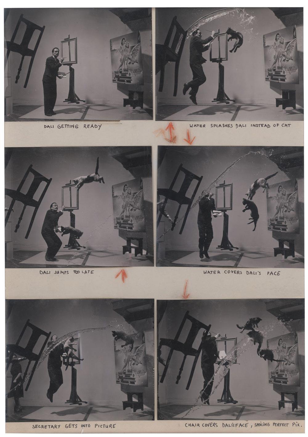 Dalí Atomicus o la fotografía de Dalí y los gatos voladores