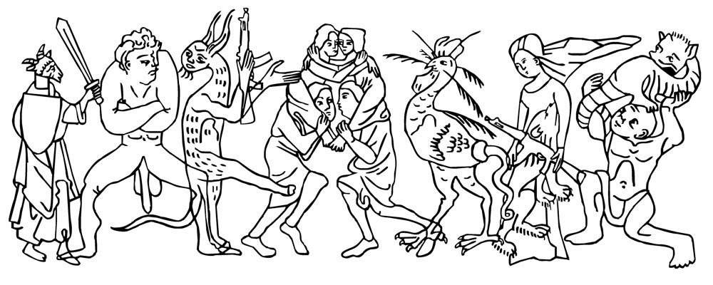 Comparte tu arte: monstruos de la sociedad en la obra de Sveta Bedareva
