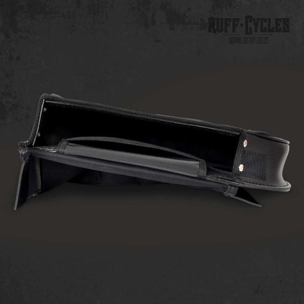 Ruff Cycles Satteltasche Echtleder Slim Black für Ruffian E-Bike 4