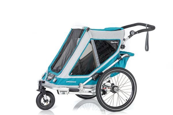 QERIDOO Speedkid2 2021 |Kinderfahrradanhänger 1