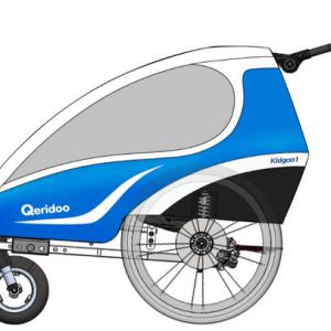 QERIDOO - Qeridoo Kidgoo1 Bezug 2018 | Blau