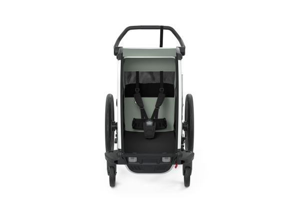Thule Chariot Lite1 Agave Deichsel front