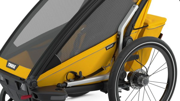 Thule Chariot Sport1 SpectraYellow Seitenfenster