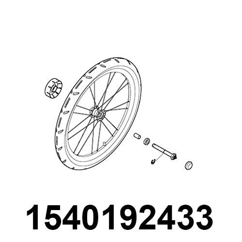 THULE Radbaugruppe LH SPT 17-X
