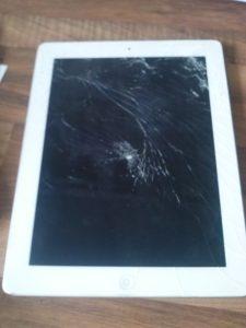 beschädigtes iPad