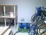 Kinderspielecke und neu Fahrradpräsentation