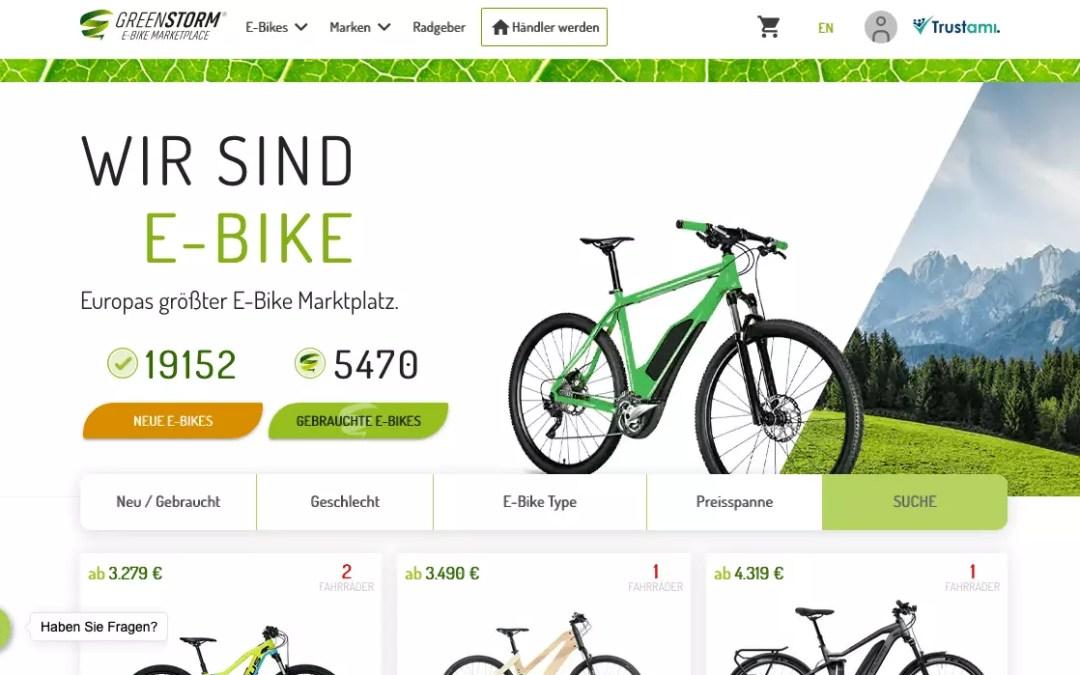 Marktplatz für gebrauchte E-Bikes
