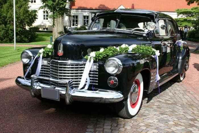 Cadillac-Touring-Sedan Hochzeitsauto mieten Münster