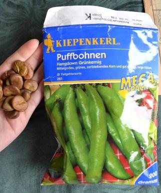 Puffbohnen-Saatgut im Mega-Pack für 2017