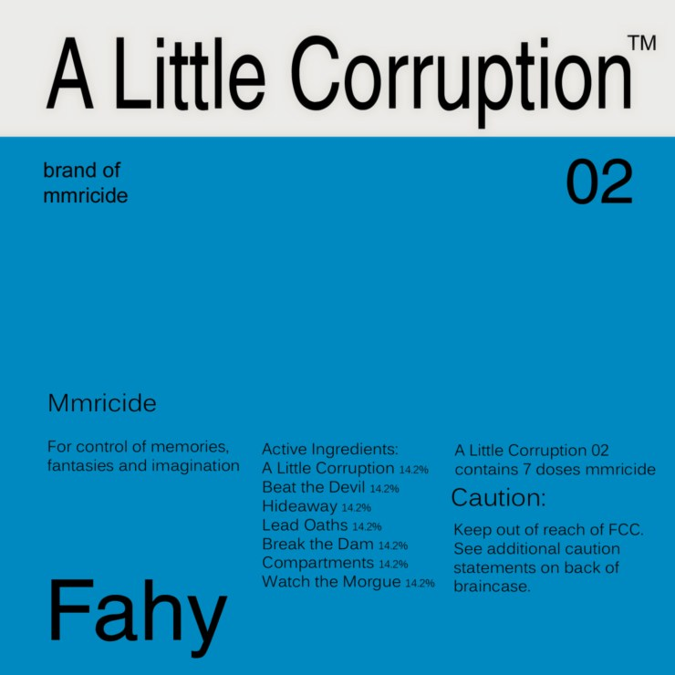A Little Corruption, by Tom Fahy (2002)