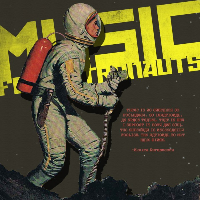 Music for Astronauts, by Tom Fahy (1998)