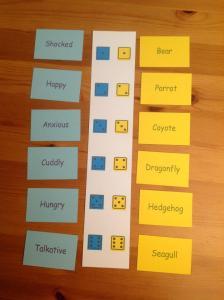 English language prototype