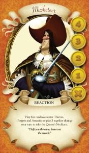 Queens Necklace - Musketeer