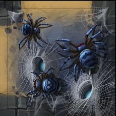 diamant spiders