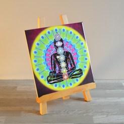 Bouddha 7 Chakras Jaune 1