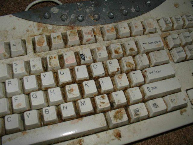 Worlds Grossest Keyboard