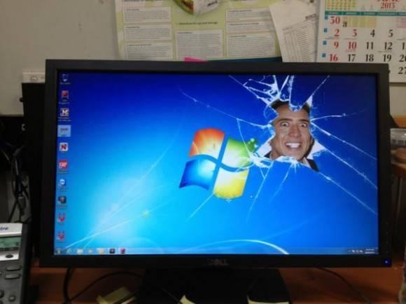 Nick Cage Windows 7