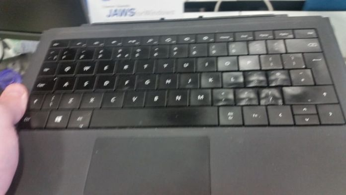 Surface Keyboard Hair Dryer Mix Up2