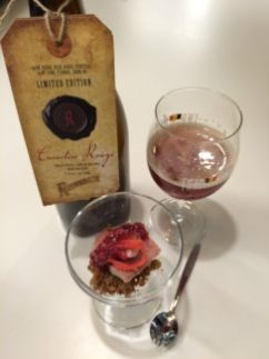 Favorietjes 2 - Rodenbach Caractère Rouge met gerookte paling, sambal van rode ui en framboos.