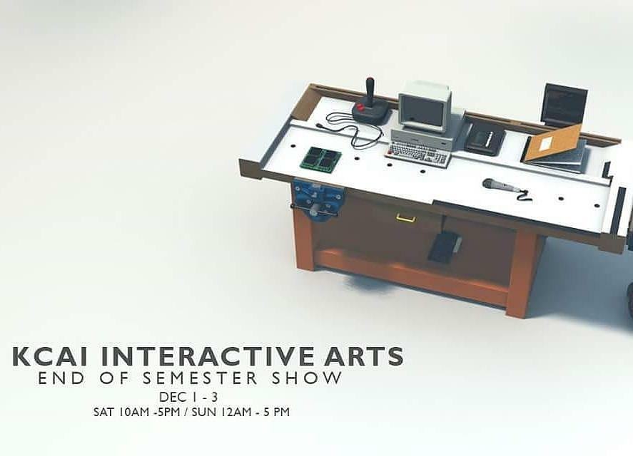 Tonight from 5-8pm is my students' end of semester show! Come on by Irving to play!  Image by @ra_che_blu
