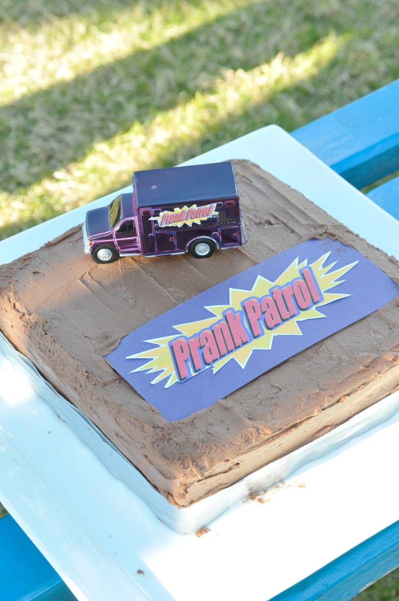 Prank Patrol By Debbie Failsafe Or Close Decorated Cakes