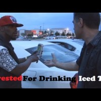 Robocop Arrest Man For Drinking Iced-Tea
