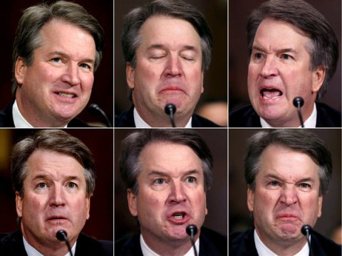Source of Image: Twitter Brett and his many faces