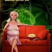 Barbie Gets Old and Fat at 50!