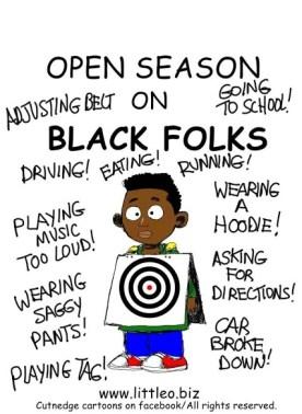 open season on Black children