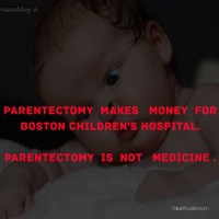 PARENTECTOMY  On SALE in Boston