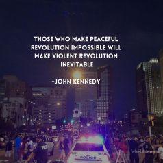 kennedy revolution inevitable