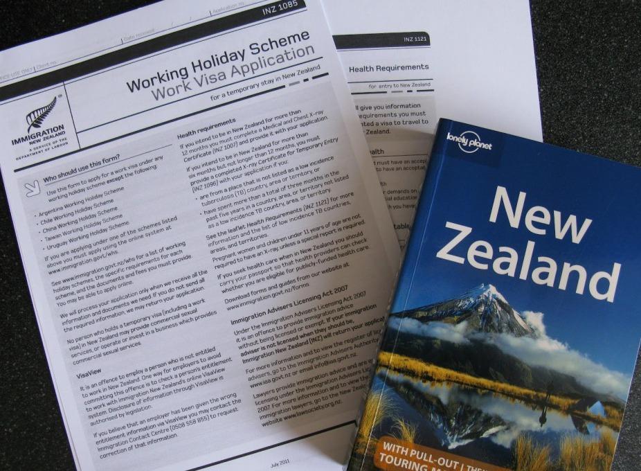 La Working Holiday Visa de Nueva Zelanda para Españoles