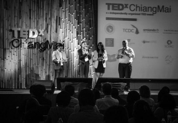 TEDx organizers.