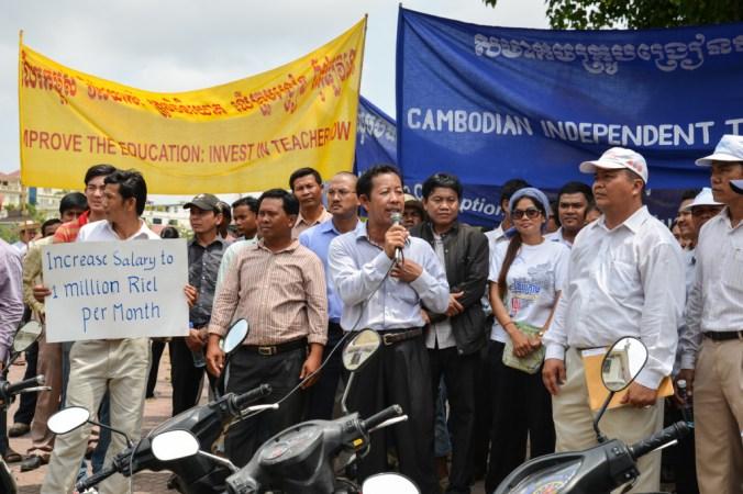 Teacher salaries and anti-Vietnamese sentiment.