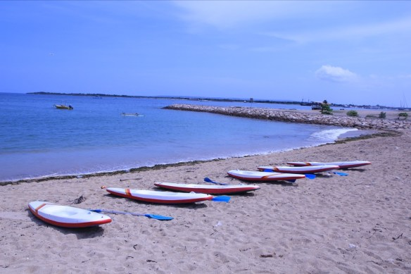 Sanur Beach.