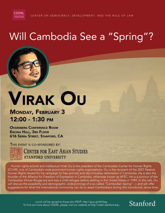 will cambodia see a spring