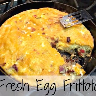One Skillet and Fresh Eggs
