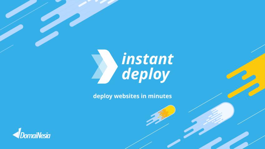 Membuat website dengan DomaiNesia mudah, cepat dan handal