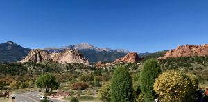 Garden of Gods in Colorado Springs