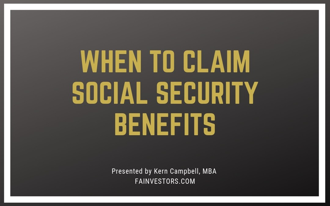 When To Apply For Social Security Benefits