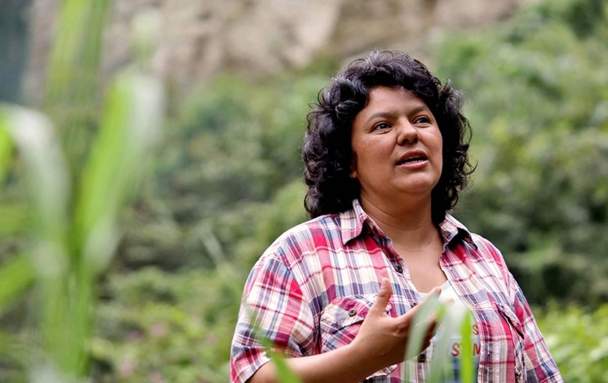 Berta Caceres (image: Goldman Environmental Prize)
