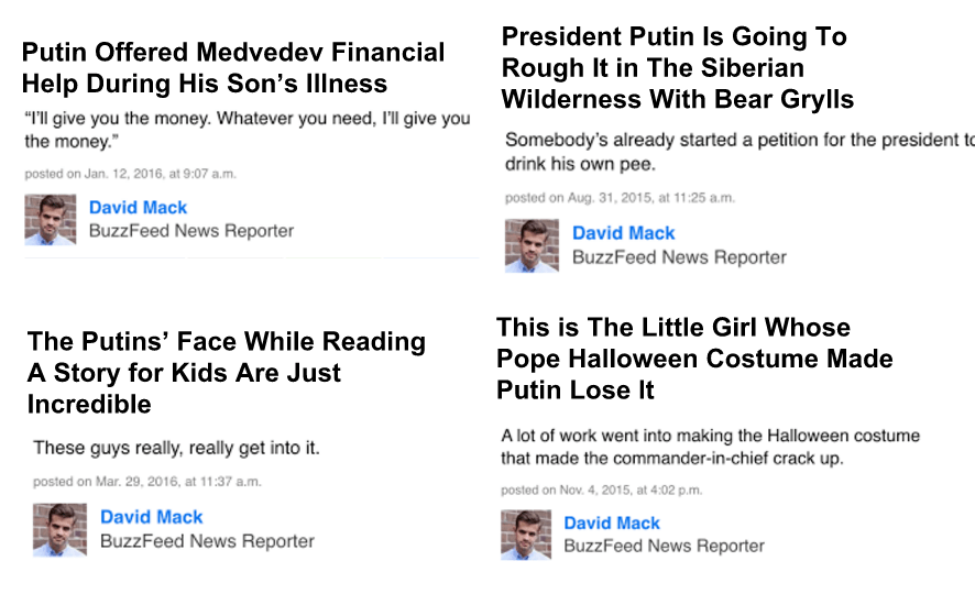 If BuzzFeed were Russian, not American