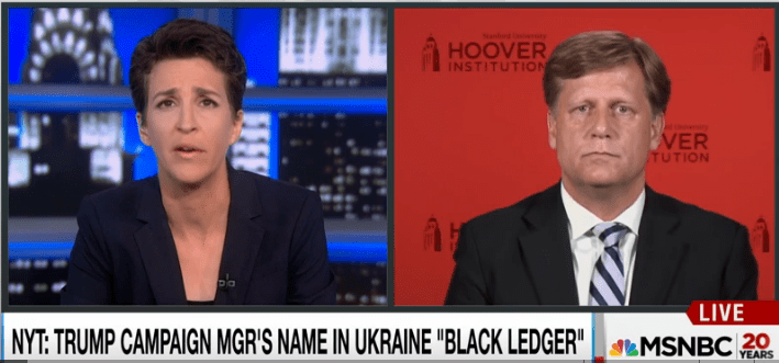 Rachel Maddow talking with former ambassador to Russia Michael McFaul.