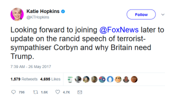 Katie Hopkins on Twitter